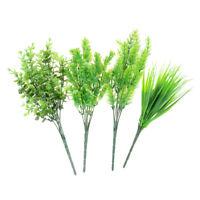 7-Äste Künstliche Kunststoff Eukalyptus Pflanze Blume Büro Party Hochzeit