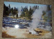 Firehole River Upper Geyser Basin Yellowstone National Park Mirro Krome Crocker