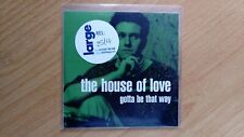 The House Of Love Gotta Be That Way Rare CD