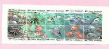 NEW ZEALAND 1993 Marine Life Booklet Set (10) FU