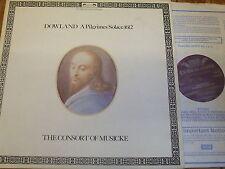 DSLO 585-6 Dowland A Pilgrames Solace 1612 / Consort of Musicke 2 LP set