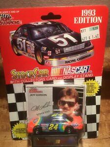 Nascar Racing Champions Jeff Gordon #24 1993 Edition Stock Car 1:64