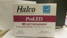"HALCO Pro LED 65 WATT 6"" DOWNLIGHT RETROFIT DL6FR12/930/RT/LED NEW"
