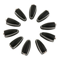 Pack of 10 Percussion Drum Set Lugs Black Hardware DIY for Drum Player