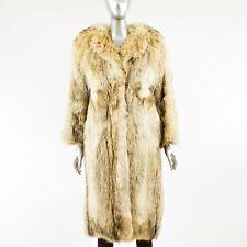 Coyote Fur Coat - Size XS