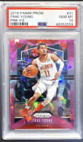 """2019 Panini Prizm Trae Young """"Pink Ice"""" PSA Gem MT 10  - 2ND YEAR - FAST SHIP 📈"""