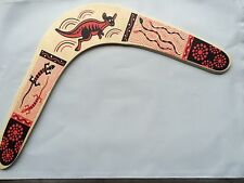 "13.5"" Wood Boomerang ~ Wooden Outdoor Fun ~ NEW"