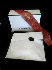 Chanel Gift Box, Authentic, with Signature Tissue Paper and ribbon