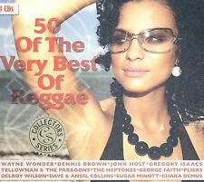 FREE US SHIP. on ANY 2 CDs! NEW CD Various Artists: 50 of the Very Best of Regga