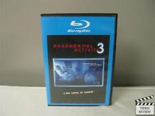 Paranormal Activity 3 (Blu-ray,2012, Rated/Unrated)