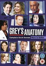Greys Anatomy: Season 6 [DVD] [2009][Region 2]