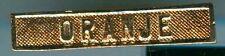 WWI:Bandauflage:Oranje,Kopie Goldfarben.1 Stueck