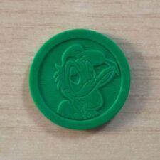 CAPS - FIGURINA FUN CAPS DISNEY - SLAMMER VERDE - PAPERINO - PLASTIC DISC