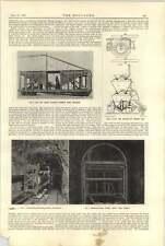 1921 Cemento Miscelazione posizionamento Chicago cemento Pistola Rivestimento travi primarie
