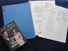 ORIGINAL VIRGINIA HILL TV Movie Script JOEL SCHUMACHER, DYAN CANON HARVEY KIETEL