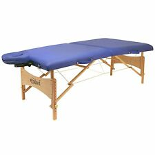 Master Massage Table Brady Portable Lightweight 27 inch Package Bed Couch Blue