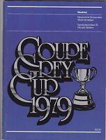 1979 GREY CUP PROGRAM,EDMONTON ESKIMOS--MONTREAL ALOUETTES