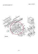 DELIVERY FRAME PER SHARP AR-M 276 COD. LFRM-0038QSZ6