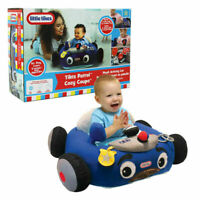 Little Tikes Police Car Cozy Coupe Plush Toddler Seat Patrol Activity Baby Chair