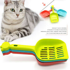 Pet Dog Cat Litter Plastic Scoop Hollow Grid Sand Shovel Waste Cleaning Scooper