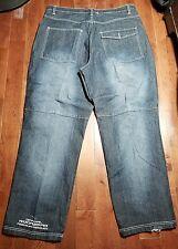 Rocawear mens jeans Size 42x34 Classic Regular Fit Denim Distressed A929