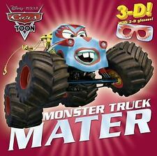 Monster Truck Mater (Disney/Pixar Cars) (3-D Pictureback) by Berrios, Frank, Goo