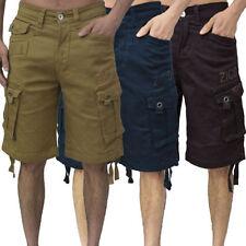 Shorts devant plat pour homme