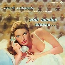 Your Number Please 1 Bonus Track (180g) 12 Inch Vinyl Julie London Audio CD