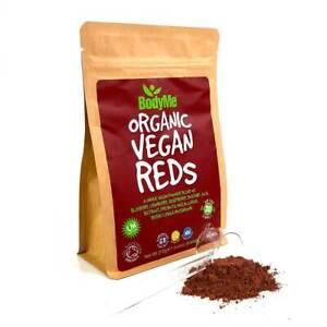BodyMe Organic Vegan Reds Powder   270g   Super Reds Blend   30 Servings