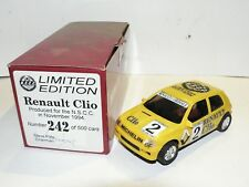 NINCO 1:3 2 Renault Clio Yellow from 1994 Limited Edition NEW