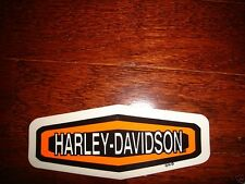 "HARLEY DAVIDSON MED BOLD LOGO DECAL STICKER 4.75"" X 1.75"" (OUTSIDE)NEW"