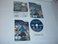AVATAR: THE GAME game complete in case w/ manual for Nintendo Wii