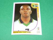 N°162 FORTUNE SOUTH AFRICA PANINI FOOTBALL JAPAN KOREA 2002 COUPE MONDE FIFA