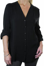 Viscose V Neck Business Tops & Shirts for Women