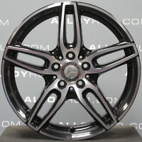 "GENUINE MERCEDES-BENZ A CLASS AMG 18""INCH 5 TWIN SPOKE ALLOY WHEELS X4 W176"