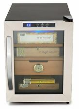 Whynter Stainless Steel 1.2 cu.ft. Cigar Cooler Humidor CHC-120S New