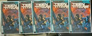 5X FUTURE STATE TEEN TITANS 1 COVER A DC COMICS 1ST PRINT NM
