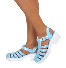 Sandalias y chanclas de mujer blancos sintético, talla 37