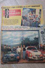 L'action Automobile Et Touristique DEC 1952 : 4 PAGES IIIEME PANAMERICAINE