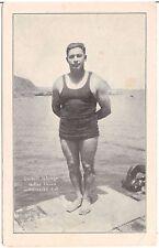 Everett Adargo Deep Sea Diver Record Holder Postcard