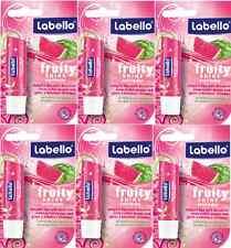 LABELLO WATERMELON FRUITY SHINE LIP BALM STICK PACK OF 6 GREAT DEAL