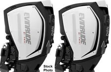 "2016 EVINRUDE  E-TEC G2 ,  250 HP 25"" SHAFT, DEMO  MOTORS ..  WORLDWIDE SHIPPING"
