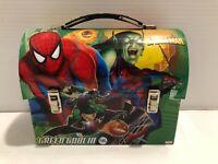 Spiderman & Green Goblin  Tin Lunchbox - 2007 - DC Comics - The Tin Box company