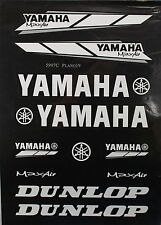 YAMAHA Decal Sticker ATV Motorcycle Dirt Bike CRF TTR YZF ATC BLACK M DE23