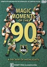 NRL - Magic Moments Of The 90's (DVD, 2003)