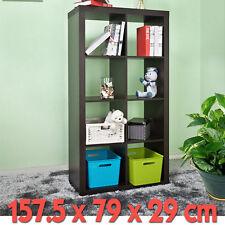 Bookcase Storage Unit Utility Bookshelf Home Office Cabinet Display 8 Shelving