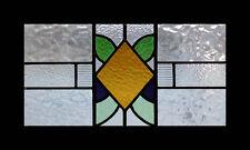 Pretty Art Deco Diamond English Stained Glass Window