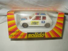 SOLIDO PEUGEOT 205 120 CV RALLY BIANCA SCALA 1:43 MIB