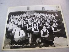 Rare 1963 Saint Andrews Grade School Room 1 E Class Photograph in Chicago
