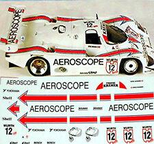Porsche 962 C Aeroscope #12 K.Nissen 1:43 Decalcomania